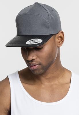 Sepci rap Snapback Arch gri-negru Flexfit