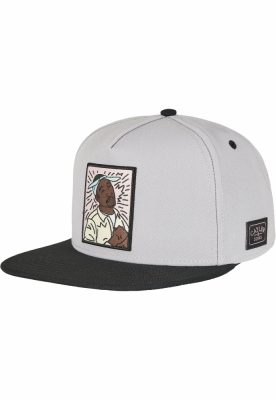Sepci rap Snapback C&S WL 2Pac Lines gri-mc Cayler and Sons