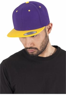 Sepci rap Snapback Classic 2-Tone mov-auriu Flexfit