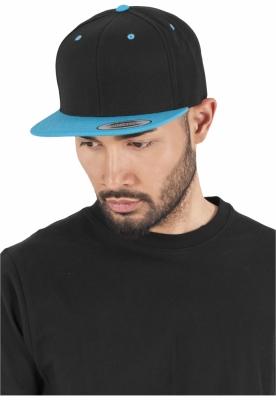Sepci rap Snapback Classic 2-Tone negru-bleu Flexfit
