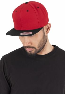 Sepci rap Snapback Classic 2-Tone rosu-negru Flexfit