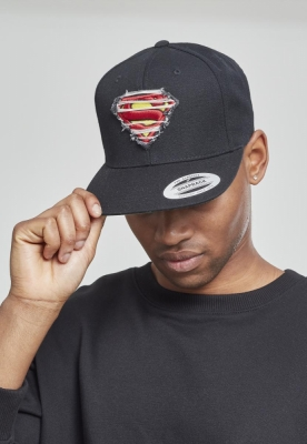 Sepci rap Snapback Destroyed Superman negru Merchcode