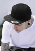 Sepci rap Snapback Fallen Lines negru-negru Flexfit