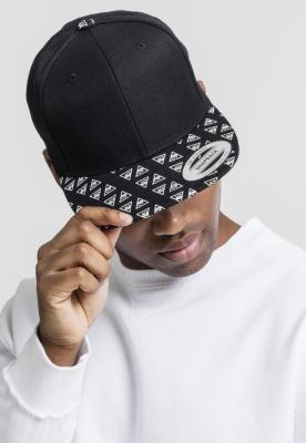 Sepci rap Snapback Horus Eye negru-alb Flexfit