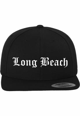 Sepci rap Snapback Long Beach negru Mister Tee