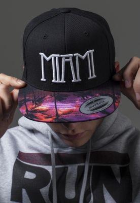 Sepci rap Snapback Miami negru Mister Tee