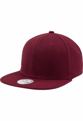 Sepci rap Snapback One Tone bordeaux Flexfit