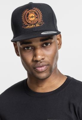 Sepci rap Snapback S.I.N.N. negru-negru Mister Tee