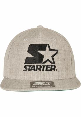 Sepci rap Snapback Starter Logo gri