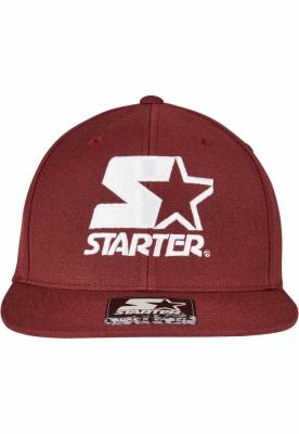 Sepci rap Snapback Starter Logo maro inchis