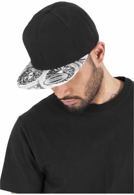 Sepci rap Snapback Sun King negru-alb Flexfit