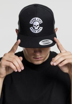 Sepci rap Snapback Thug Life Skull negru