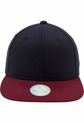 Sepci rap Snapback Two Tone dnvy-bordeaux Flexfit