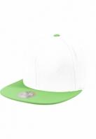 Sepci rap Snapback Two Tone verde-alb Flexfit