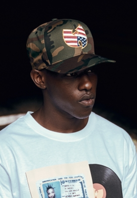 Sepci rap Snapback Wu-Wear American Camo camuflaj