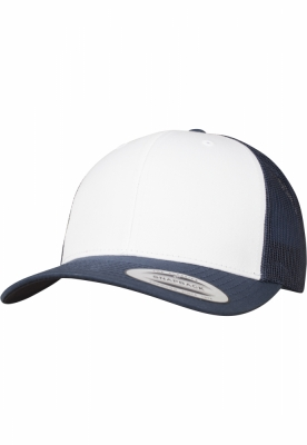 Sepci Retro Trucker Colored Front bleumarin-alb Flexfit