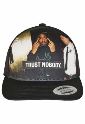 Tupac Trust Nobody Retro Trucker Mister Tee