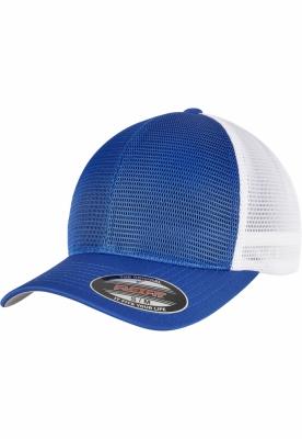 Sepci Sapca Flexfit 360 OMNIMESH doua culori albastru roial-alb