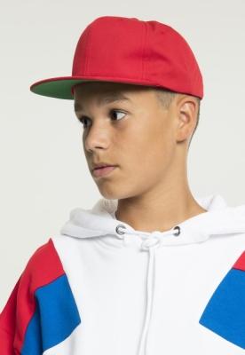 Sepci Sepci rap Snapback Pro-Style Twill Youth rosu Flexfit