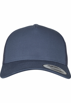 Sepci Sepci Retro Trucker 5-Panel bleumarin Flexfit