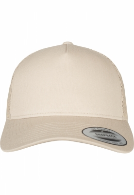 Sepci Sepci Retro Trucker 5-Panel kaki Flexfit