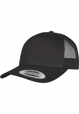 Sepci Sepci Retro Trucker 5-Panel negru Flexfit