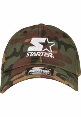 Sepci Starter Logo Dad verde-camuflaj