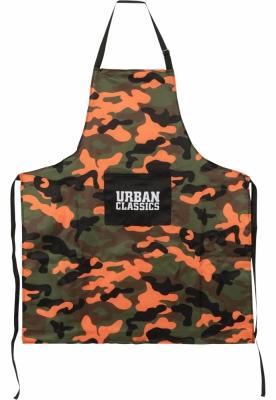 Set Barbecue portocaliu-camuflaj Urban Classics