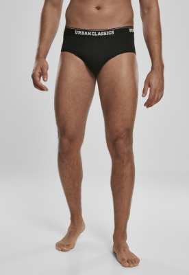 Set de 2 Brief negru-alb Urban Classics