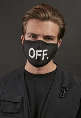 Set de 2 Masca fashion protectie OFF negru-negru Mister Tee