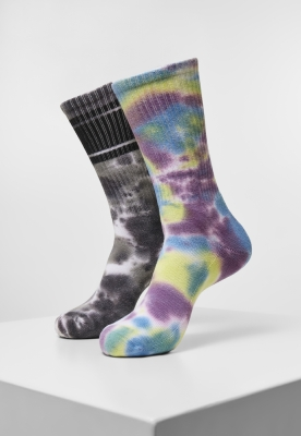 Sosete casual Tie Dye 2-Pack Urban Classics