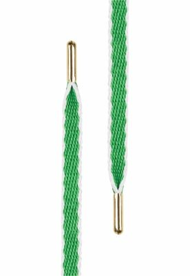 Sireturi Set Gold Hook Up . (. of 5 .) verde-alb Tubelaces