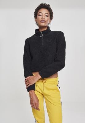 Short Sherpa Troyer pentru Femei negru Urban Classics