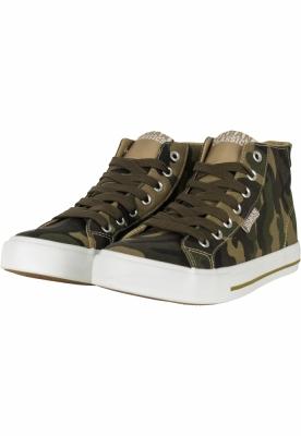 Sneakers model inalt Canvas Urban Classics