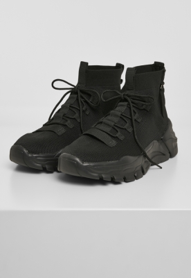 Sneaker High Top negru Urban Classics