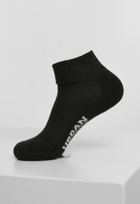 Set de 6 Sneaker Sosete High negru Urban Classics
