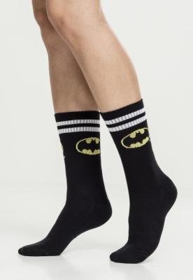 Sosete Batman Double . negru-alb
