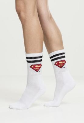 Sosete Superman Double . negru-alb