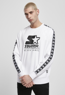 Starter Logo Taped Crewneck alb
