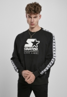 Starter Logo Taped Crewneck negru