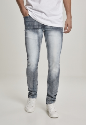 Stretch Basic Denim Skinny Fit ice-albastru Southpole