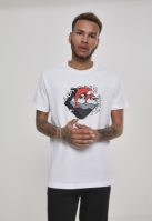 Summer Waves Tee alb Pink Dolphin
