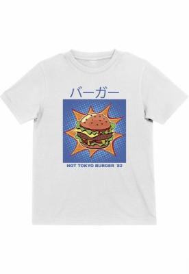 Tokyo Burger Tee pentru Copii alb Mister Tee
