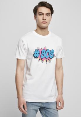 Tricou 808 Pop alb Mister Tee