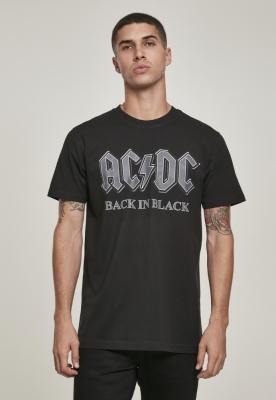 Tricou ACDC Back In negru negru Merchcode