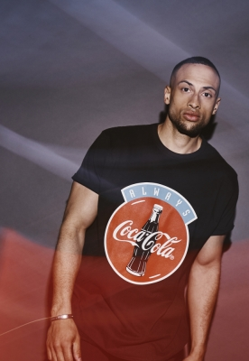 Tricou Always Coca Cola negru Merchcode