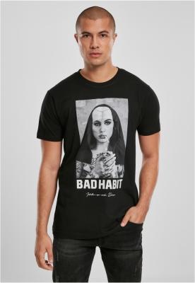 Tricou Bad Habit negru Mister Tee