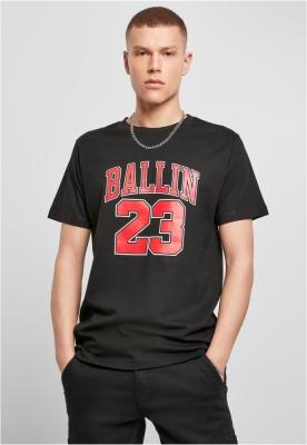 Tricou Ballin 23 negru Mister Tee