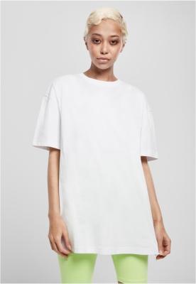 Tricou Boyfriend supradimensionat pentru Femei alb Urban Classics
