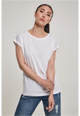 Tricou bumbac organic maneca larga pentru Femei alb Urban Classics